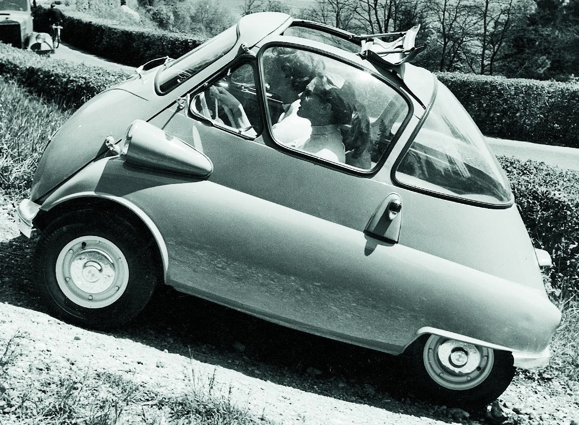 Isetta Bubble Car Valentine special loveable cars