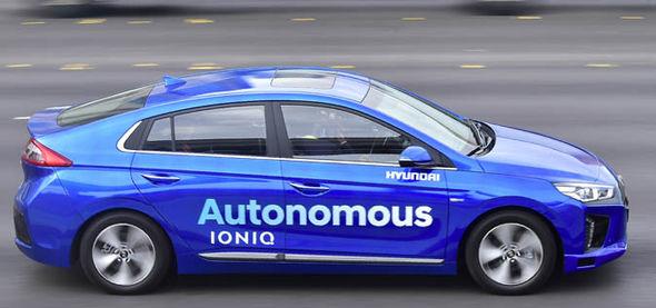 Hyundai Driverless Autonomous Cars Aurora