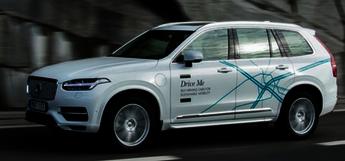 Volvo Driverless Car Autonomous