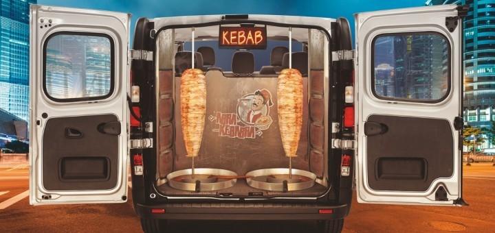 Vivaro Kebabi Kebab Van Taxi